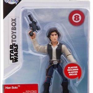 Disney Star Wars Toybox Han Solo Toy